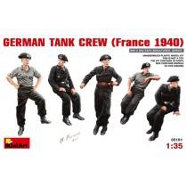 German Tank Crew (France 1940) 1/35