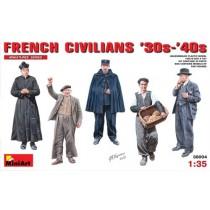 French Civilians 1930s-40s 1/35