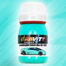 GC-153 Lamborghini Celeste / Tiffany Blue de Gravity Colors