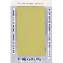 Calca imitación fibra  de carbono amarillo Kevlar