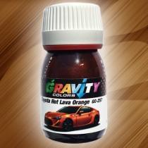 GC-257 Toyota Hot Lava Orange de Gravity Colors