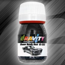GC-253 Eleanor Metallic Black de Gravity Colors