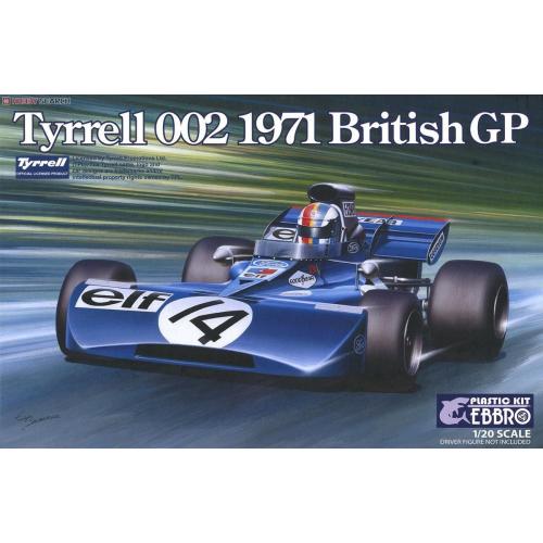 TYRRELL 002 1971 BRITISH GRAND PRIX 1/20