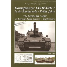 Leopard 1 MBT in German Army Service - Early Years