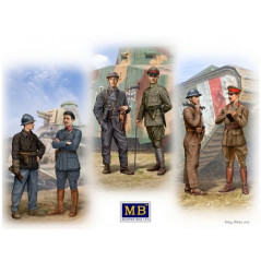 Tankmen of WWI Era 1/35