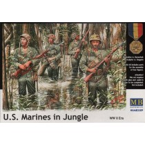 US Marines in Jungle, WWII era 1/35