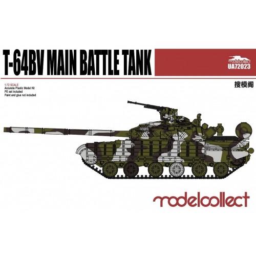 T-64BV Main Battle Tank 1/72