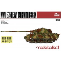 Germany WWII E-75 Heavy Tank with 88 gun 1/72