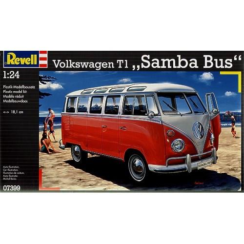 VW/Volkswagen T1 Samba Bus  1/24