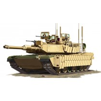 U.S. M1A2 SEP TUSKII MBT 1/72