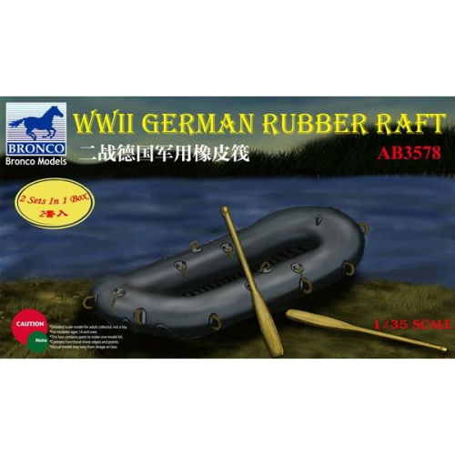 WWII German Rubber Raft 1/35