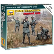 WWII German HQ Staff 1/72