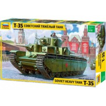 Russian T-35 Heavy Tank 1/35