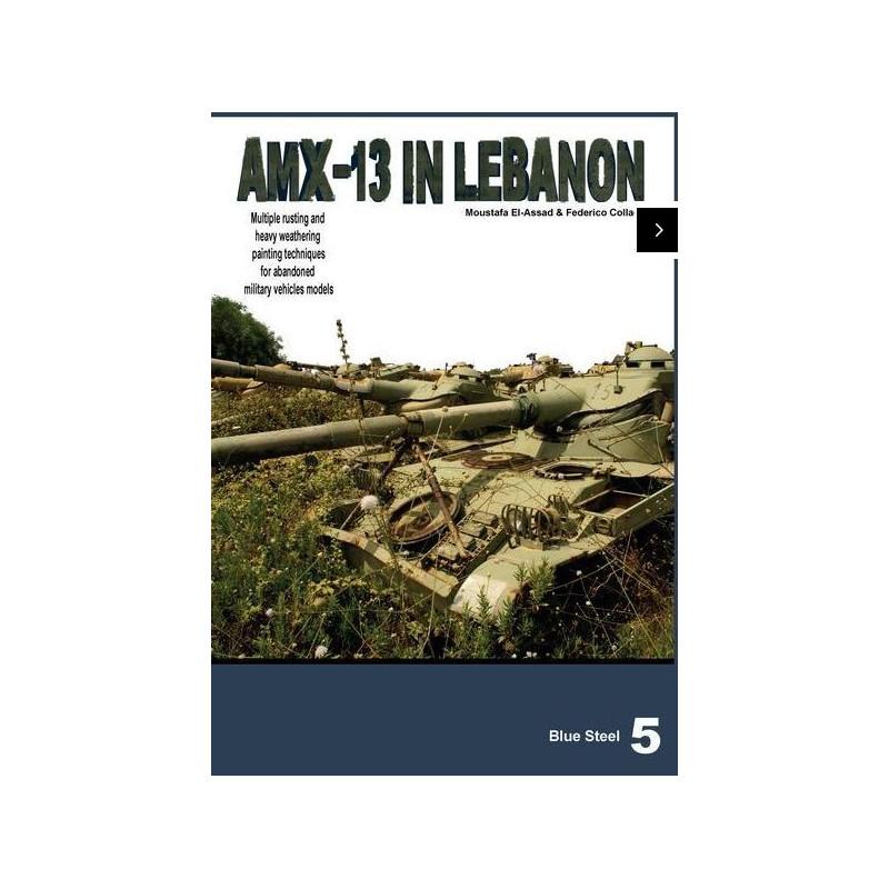 Blue steel 5 AMX-13 abandoned in Lebanon