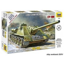 Soviet Self propelled Gun S-100 1/72