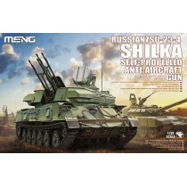 Russian ZSU-23-4 Shilka Self-propelled Anti-aircraft Gun 1/35