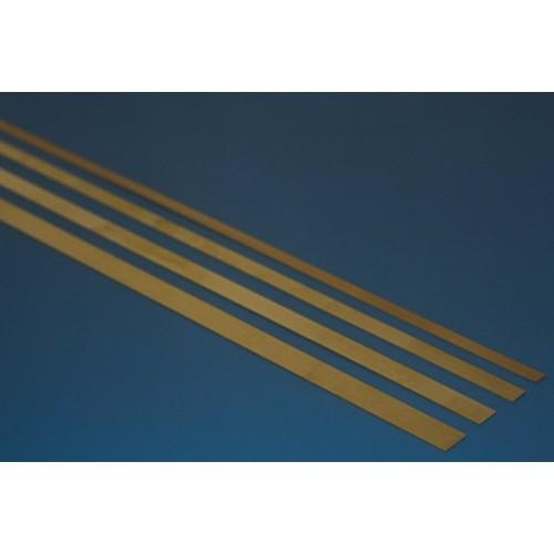 Brass stripes 0.15X5,00 MM.