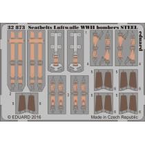 Seatbelts Luftwaffe WWII bombers STEEL 1/32