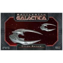 BattleStar Gallactica Cylon Raider (2 maquetas ) 1/72