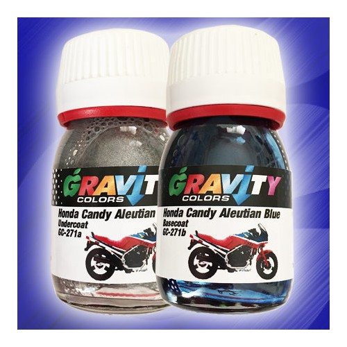 GC-271 Honda Candy Aleutian Blue de Gravity Colors