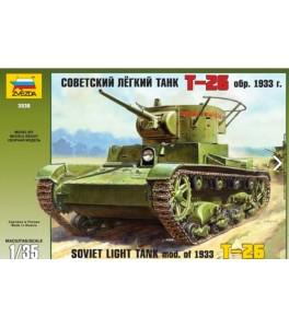 Soviet Light Tank T-26 , Spanish decals 1/35