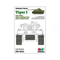 Workable Tracks for Tiger I Early Production 1/35