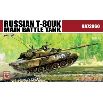 RUSSIAN T-80UK MAIN BATTLE TANK 1/72