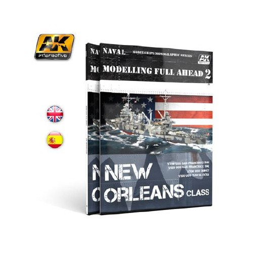 AK895 MODELLING FULL AHEAD 2 NEW ORLEANS CLASS