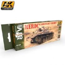 AK4230 MERDC CAMOUFLAGE COLORS