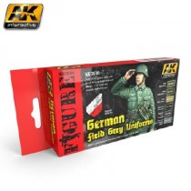 AK3140 GERMAN FIELD GREY UNIFORMS