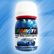 Porsche Flying Lizard Light Blue Gravity Colors