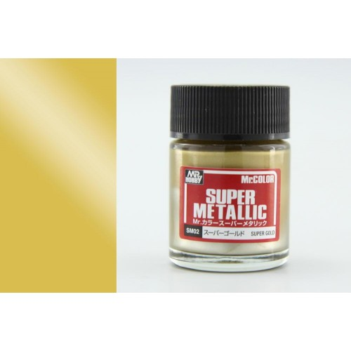 Super metalic Color SM02 Gold