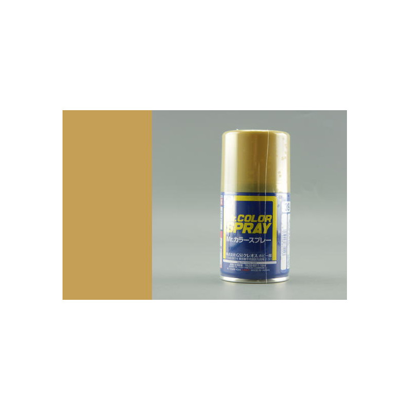 Mr. Color Spray (100 ml) Dark Yellow (Sandy Yellow)