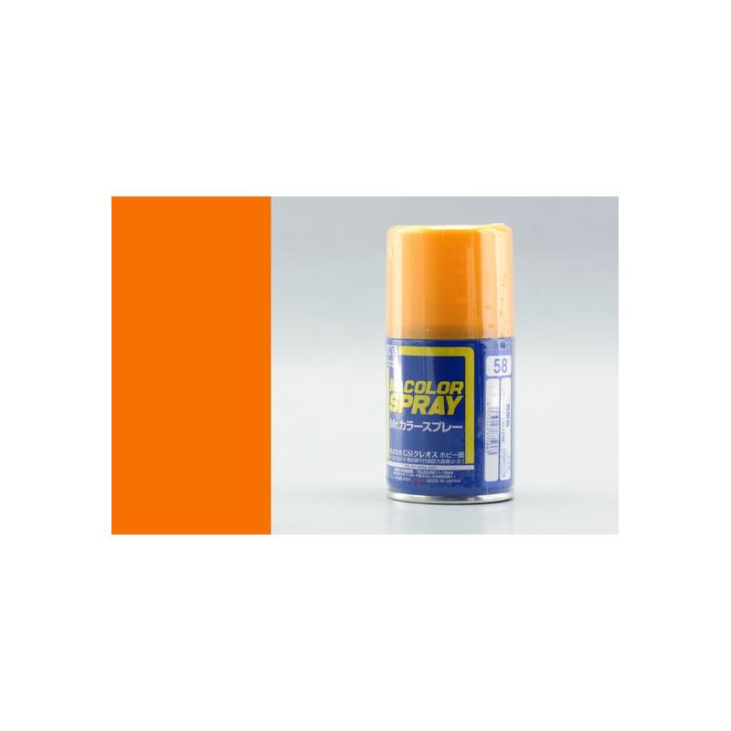 Mr. Color Spray (100 ml) Orange Yellow