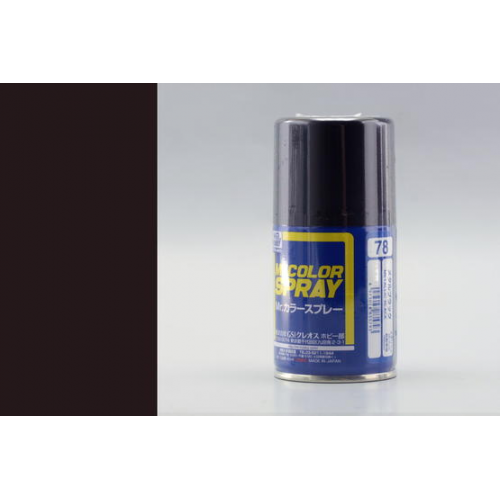 Mr. Color Spray (100 ml) Metal Black