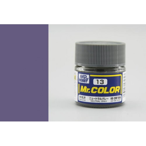 Mr. Color  (10 ml) Neutral Gray