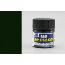 Mr. Color  (10 ml) RLM70 Black Green