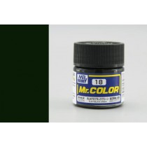 Mr. Color  (10 ml) RLM70 Black Green