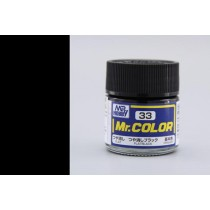 Mr. Color  (10 ml) Flat Black