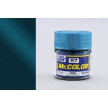 Mr. Color  (10 ml) Metallic Blue Green