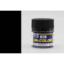 Mr. Color  (10 ml) Semi Gloss Black