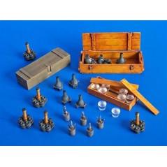 German granades and mines 1/35