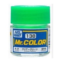 Mr. Color  (10 ml) Clear Green
