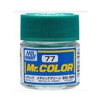 Mr. Color (10 ml) Metallic Green