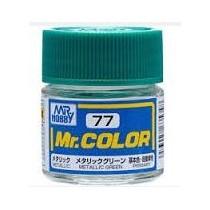 Mr. Color  (10 ml) Metallic Green
