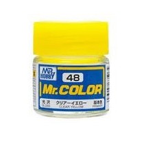 Mr. Color  (10 ml) Clear Yellow