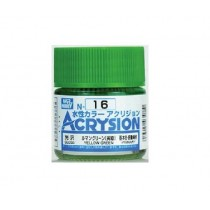 Acrysion (10 ml) Yellow Green