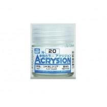 Acrysion (10 ml) Flat Clear