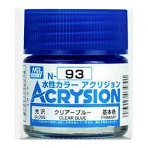 Acrysion (10 ml) Clear Blue