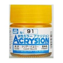 Acrysion (10 ml) Clear Yellow